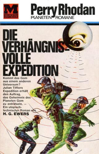 Ewers PR Verhängnisvolle Expedition Cover 1964