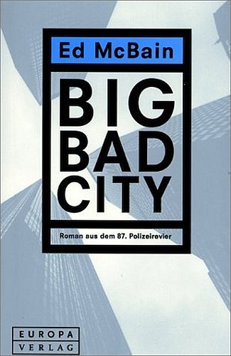 McBain Big Bad City Cover 2000