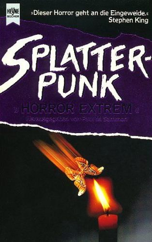 Sammon Splatterpunk 1 Cover